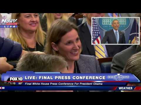 Thumbnail: WOW: Reporter Asks Obama a PERSONAL Question to Wrap Up FINAL Press Conference as President - FNN