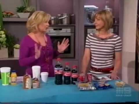 Amanda Clark on Mornings with Kerri-Anne