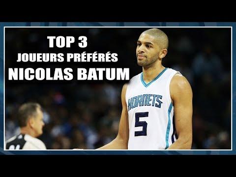 NICOLAS BATUM / TOP 3 JOUEURS PRÉFÉRÉS