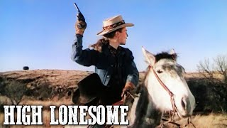 High Lonesome John Drew Barrymore American Western Cowboy Movie Wild West English