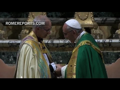 Pope and Archbishop of Canterbury: Together there is a mission to serve God and humanity