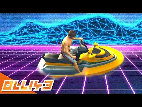 GTA 5 Transform Races : INSANE NEON RACING! (retro)