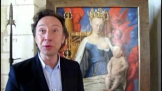 VIDEO - LOCHES. Stéphane Bern au coeur des secrets de Loches