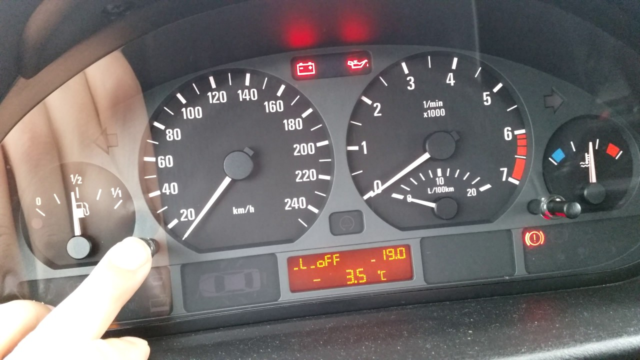 Bmw E46 Instrument Cluster Reset Youtube