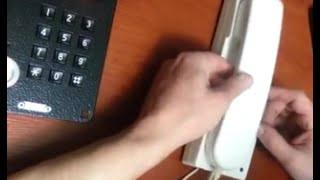 видео Схема подключения переговорного устройства белсплат