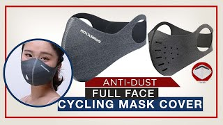 Anti-dust Full Face Cycling Mask Cover