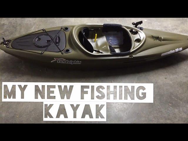 My  New Fishing Kayak