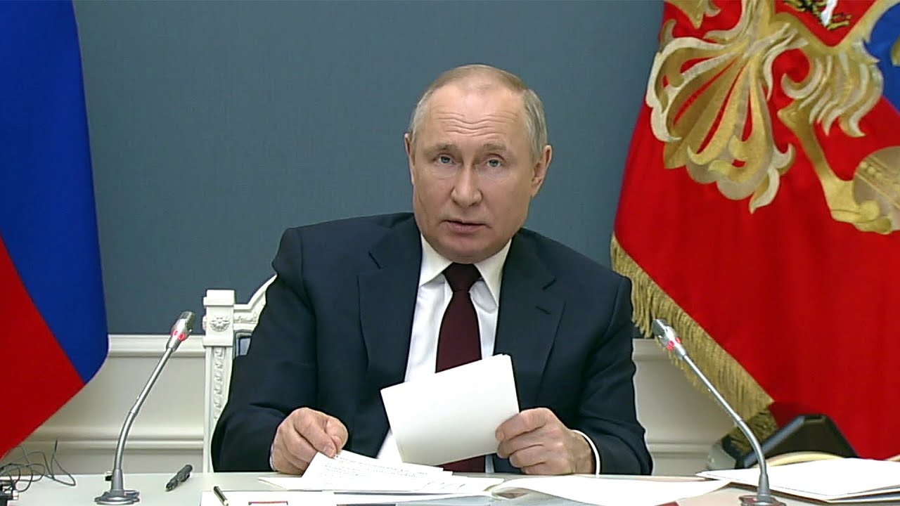 Владимир Путин на климатическом саммите выступил с обращением к лидерам ведущих государств.