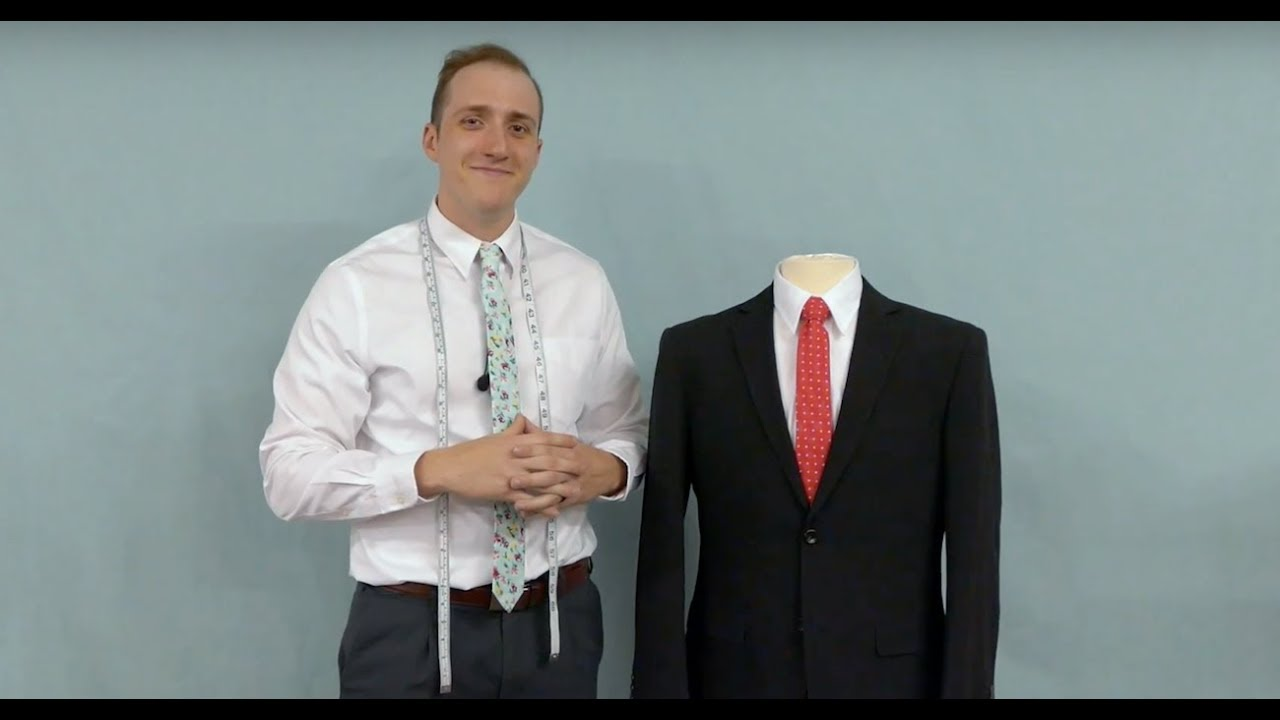 Choosing Your Suit Jacket Length - YouTube