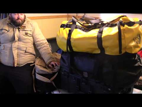 Antarctica 2015  Episode 2 : Structure of my packing plan