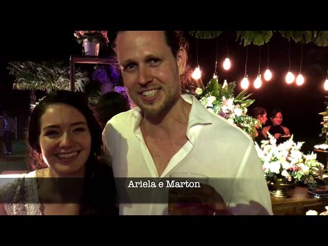 Depoimento Ariela e Marton
