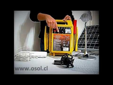 Sistema De Energia Solar De Emergencia Mundosolar Doovi