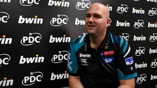 Grand Slam of Darts 2018 - Rob Cross says 'the pressure is off but i want to win my group'