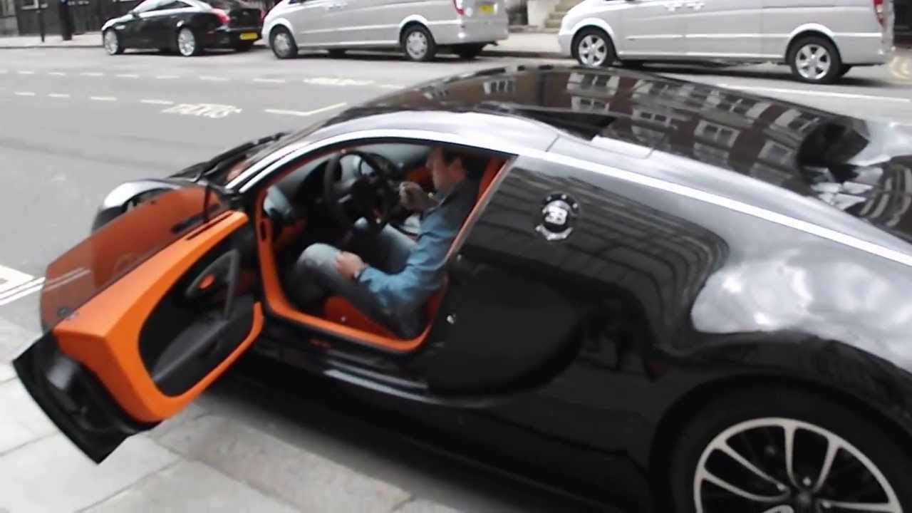 Bugatti Veyron SS sang noir - YouTube