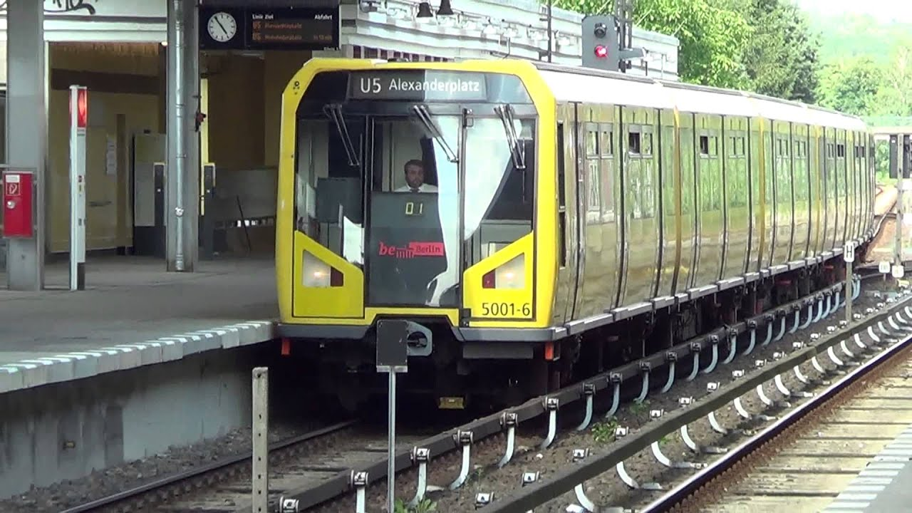 U-Bahn Berlin - BVG Baureihe H (--Xtra Large--) [HD 1080p ...