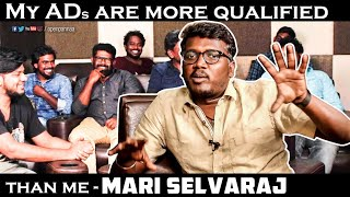 My ADs are more qualified than me - Mari Selvaraj | Karnan | Roundu Katti | Open Pannaa