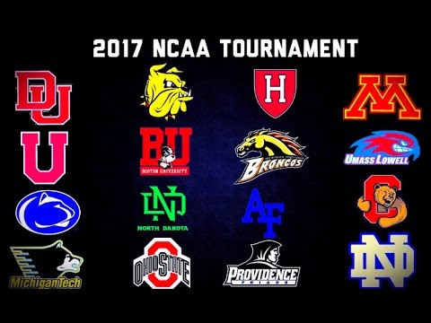 2017 NCAA Hockey Tournament Hype Video