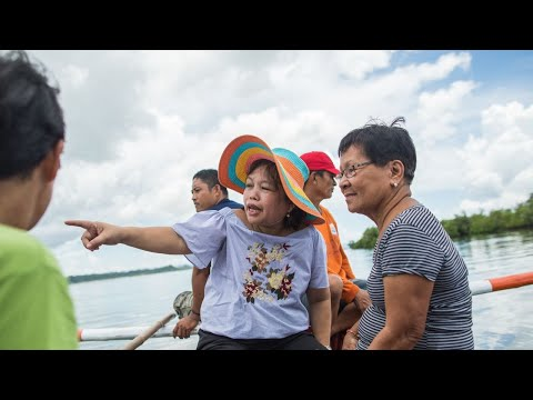 Fighting Climate Change. Featuring CARE-Climate-Heroine Minet From The Philippines.