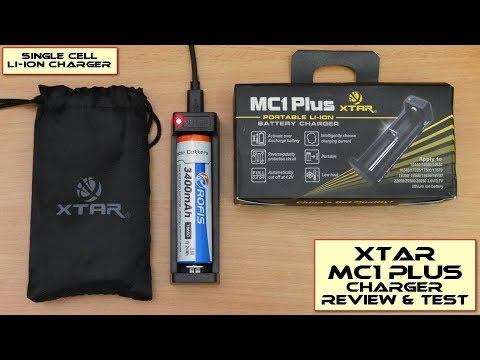 Xtar MC1 Plus Li-ion Charger: Review & Test