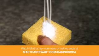Baking Soda Uses from Martha Stewart Living – ARM & HAMMER™