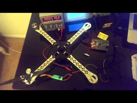 Quadcopter : ESC Turnigy / STM32F4DISCOVERY