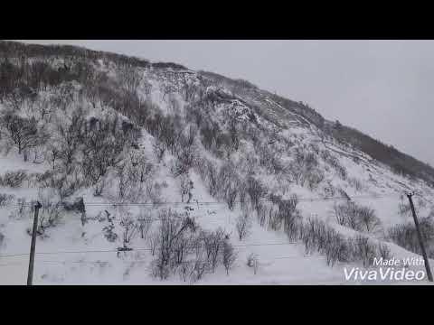 Циклон на Сахалине. Невельск 2 марта 2018. Sakhalin