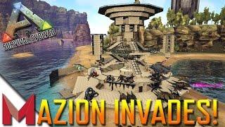 MAZION INVADES DARKLING'S AMAZING BUILD! -=- ARK: SURVIVAL EVOLVED GAMEPLAY -=- Ep17