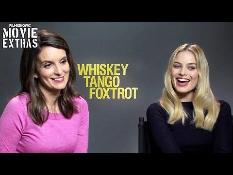 Whiskey Tango Foxtrot - Tina Fey & Margot Robbie Official Movie Interview (2016)
