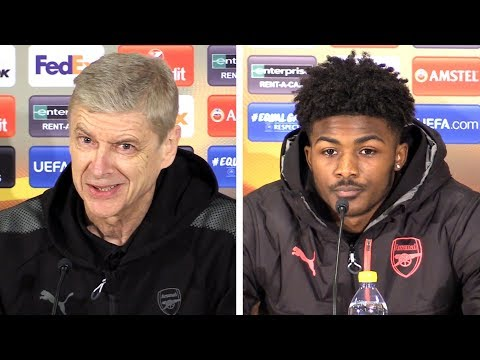 Arsene Wenger & Ainsley Maitland-Niles Full Pre-Match Press Conference - Ostersund v Arsenal