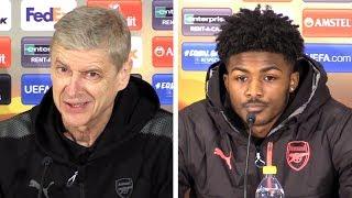 Arsene Wenger & Ainsley Maitland-Niles Full Pre-Match Press Conference - Ostersund v Arsenal