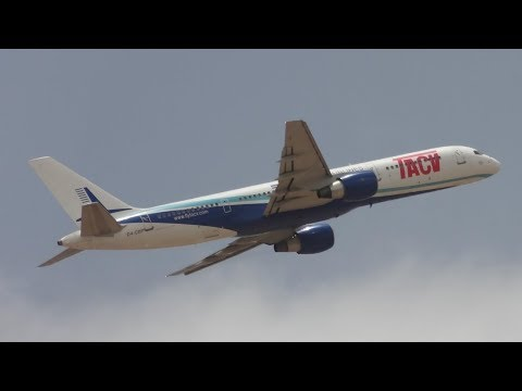 ULTRA RARE! TACV Cape Verde 757 Close Up Departure Sal Airport