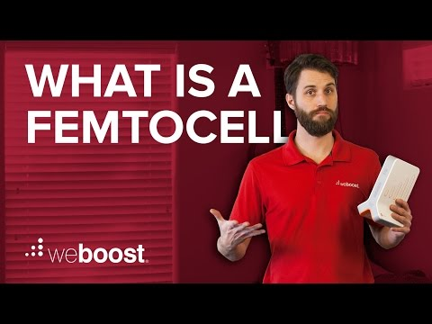 What is a femtocell?   weBoost