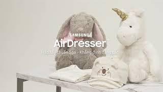 Tủ chăm sóc quần áo AirDresser | Hướng dẫn sử dụng thiết bị đa năng