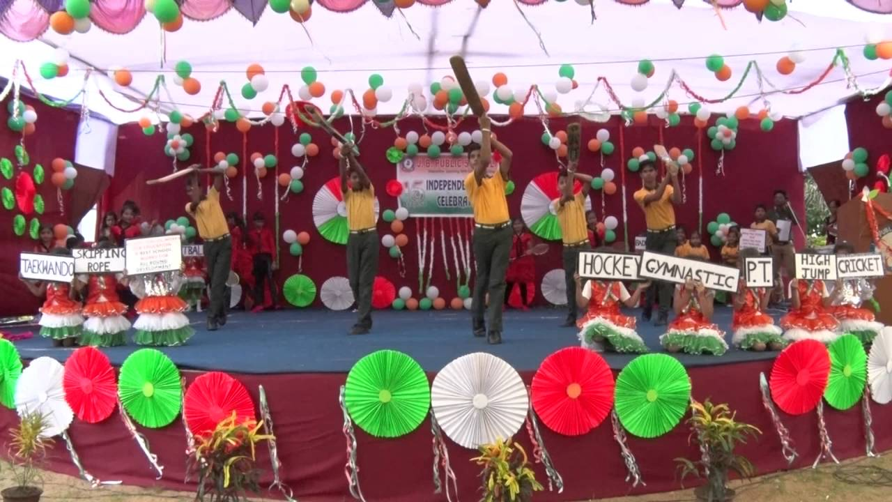 Education Sports Knowledge Independence Day 16 J B Public