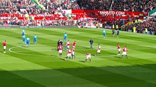 DAWID DE GEA Manchester United - Arsenal Londyn początek meczu i prezentacja przez komentatora⚽
