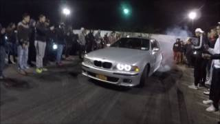 FIST FIGHT BREAKS OUT AT CAR MEET