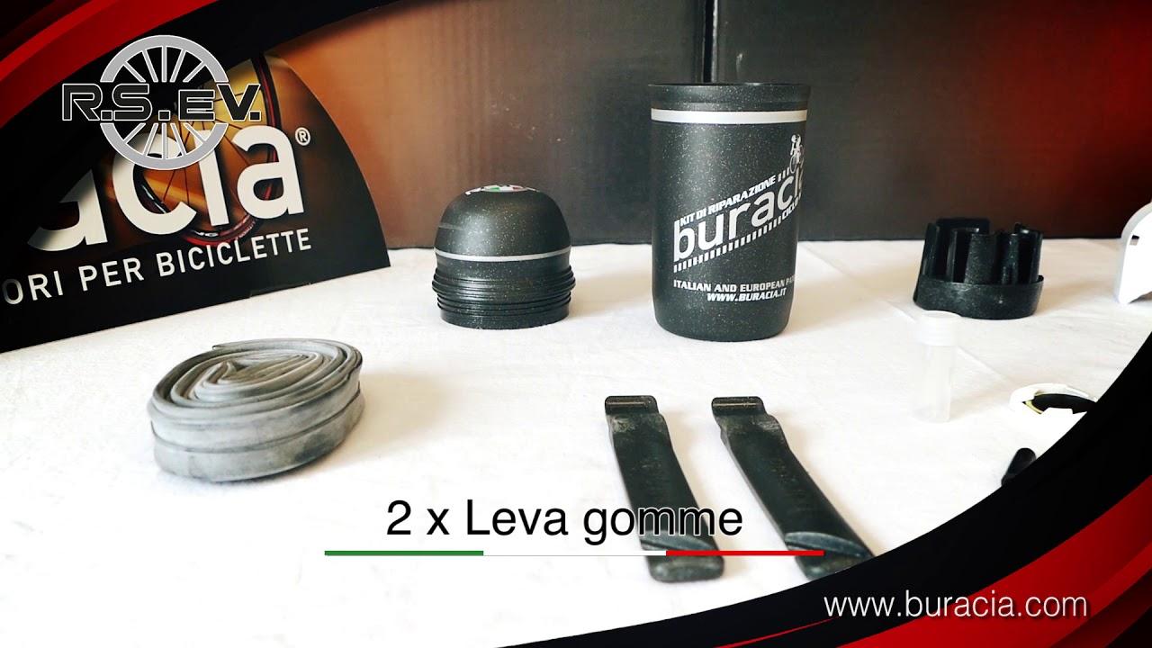 Made in Italy. buracia Bici da Corsa Serie Sprint Airone Modello #3 Riparazioni Biciclette Kit antiforatura