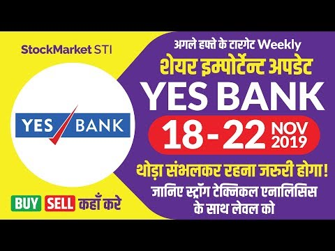 Yes Bank News | Yesbank Weekly Target | YESBANK Share Price Target | Bse Nse Yes Bank 18 To 22 Nov