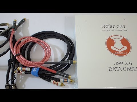 First Look Nordost Heimdall 2 Usb Cable Youtube