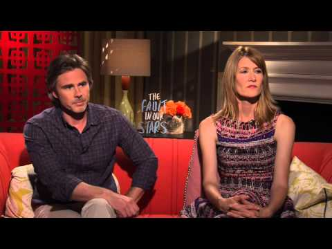 The Fault In Our Stars: Laura Dern & Sam Trammell  Movie