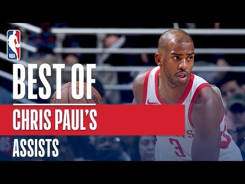 Chris Paul's Best Assists From the NBA Season!