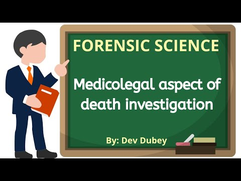 Medicolegal Aspect Of Death Investigation | Meaning Of Death | Dev Dubey | Forensic Law