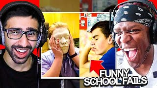 SIDEMEN REACT TO SCHOOL FAILS