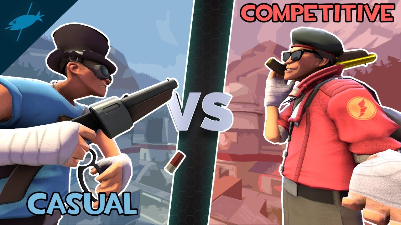 Download [TF2] The Casual Community VS The Competitive Community