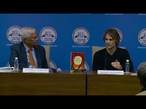 NYT South Asia Bureau Chief Jeffery Gettleman talks about his book LOVE, AFRICA at FCC on 12.1.18