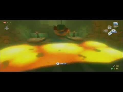 The Wind Waker HD: Hero Mode 3 Heart Run - Dragon Roost Cave