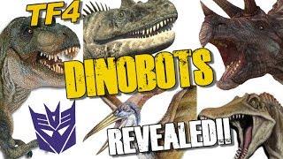 five dinobot beast modes revealed tf4 news 75