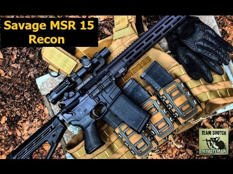 Savage MSR Recon AR 15 Review