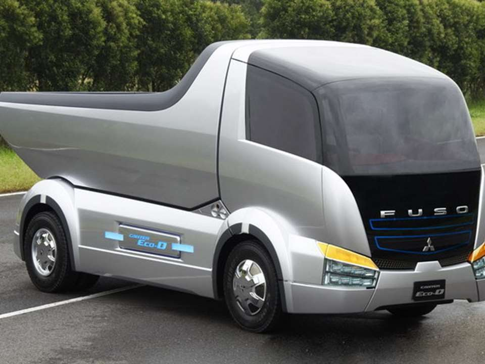 2904 Mitsubishi Fuso Canter Eco D 2008 Prototype Car