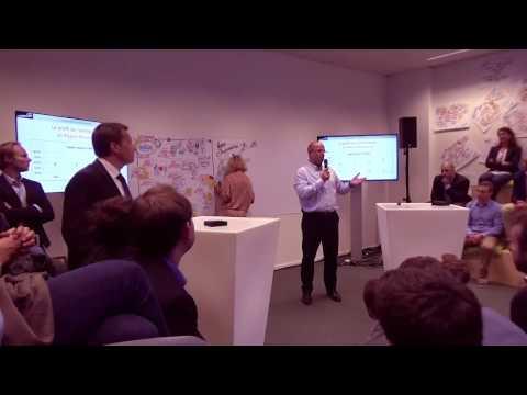 Keynote Bruno Wattenbergh at KBC STARTIT Brussels Grand Opening Brussels